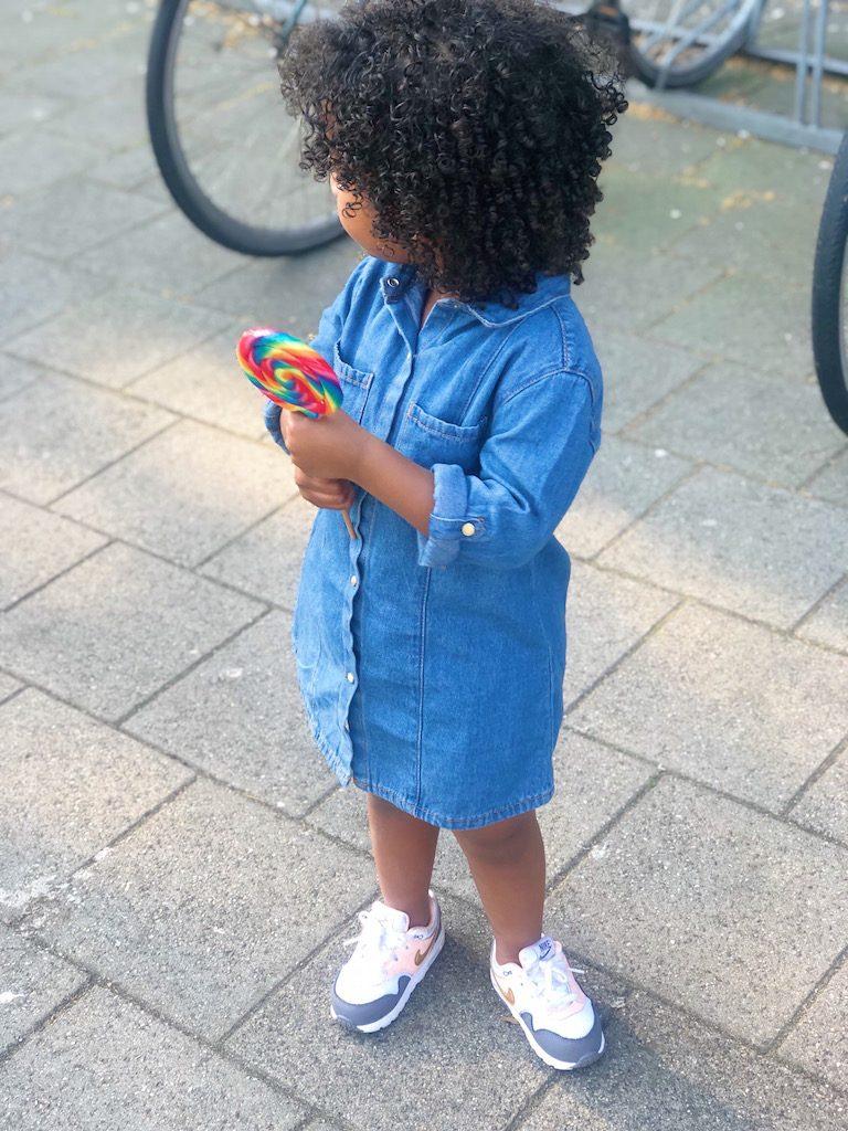 spijkerjurkje voor kinderen